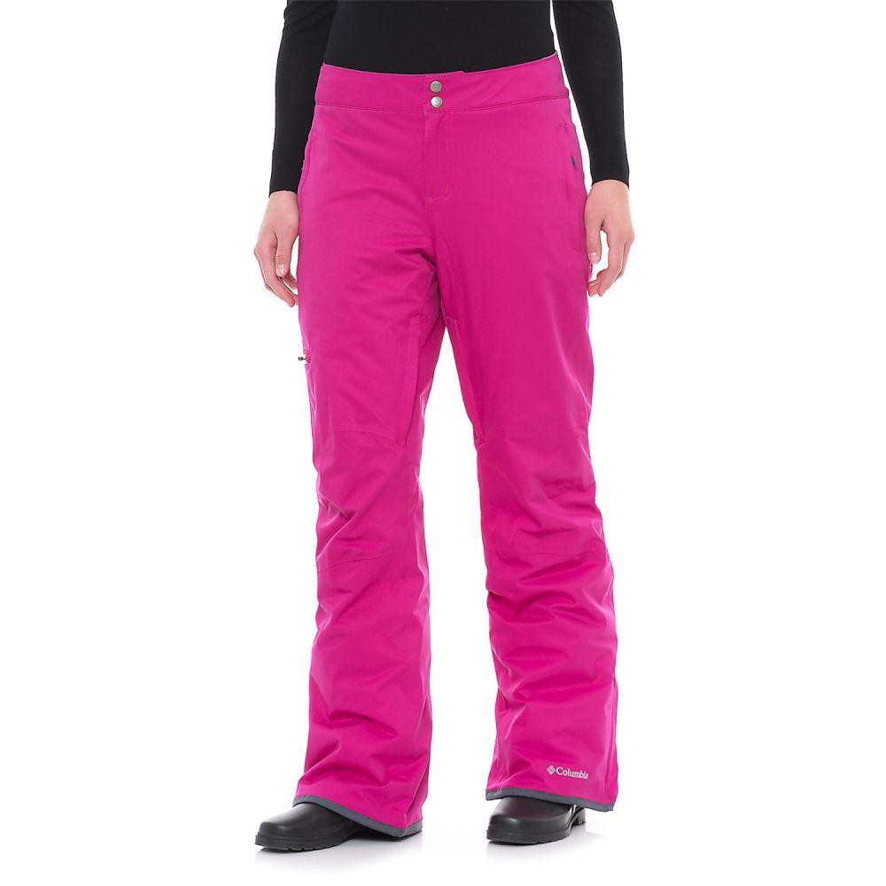 コロンビア Columbia Sportswear レディース スキー・スノーボード ボトムス・パンツ【Velcoca Vixen Omni-Heat Ski Pants - Waterproof, Insulated】Deep Blush