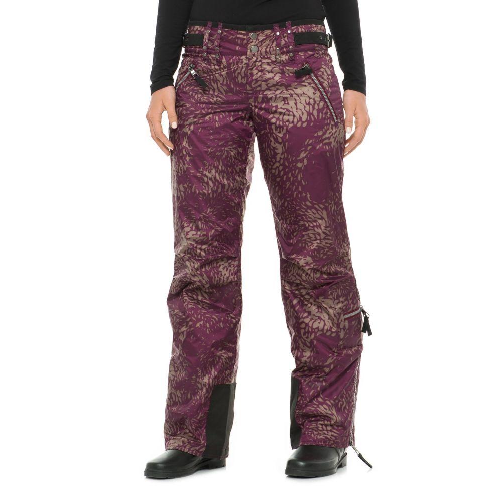 スケア Skea レディース スキー・スノーボード ボトムス・パンツ【Cargo Ski Pants - Insulated】Merlot Phoenix