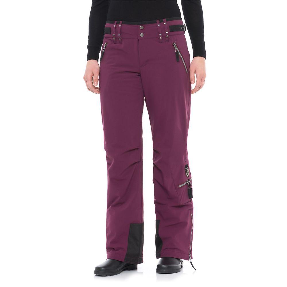 スケア Skea レディース スキー・スノーボード ボトムス・パンツ【Cargo Stretch Ski Pants - Insulated, Regular Fit】Merlot