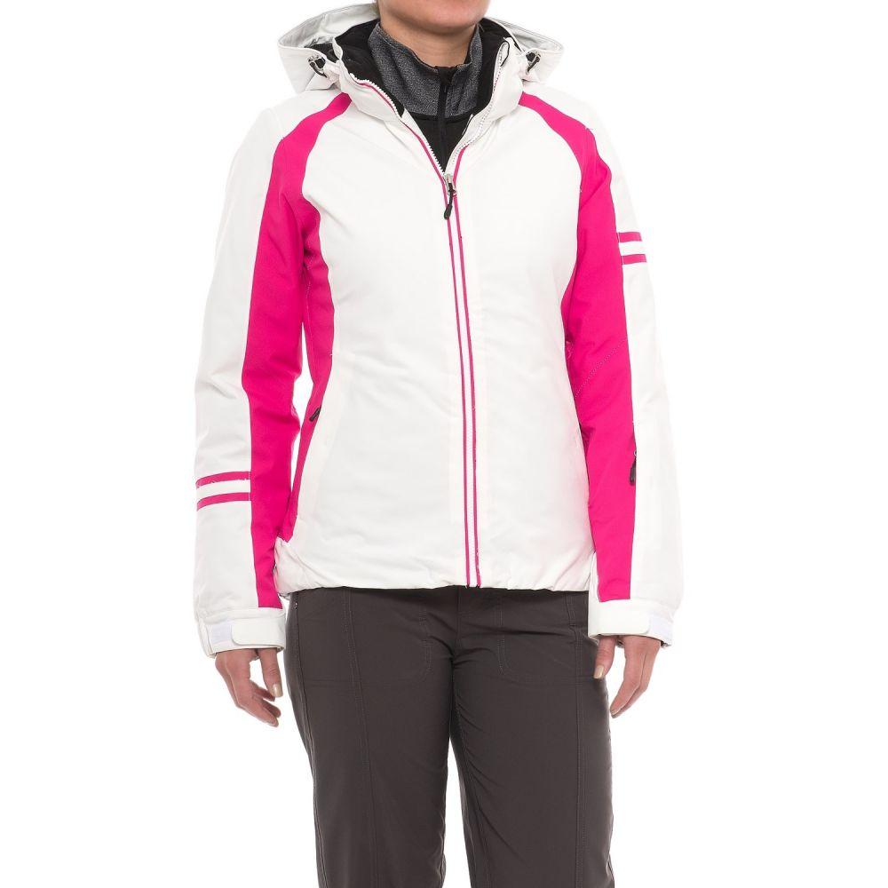 カーボン Karbon レディース スキー・スノーボード アウター【Snow Ski Jacket - Waterproof, Insulated】White/Raspberry