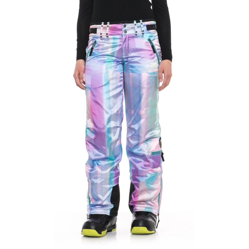 スケア Skea レディース スキー・スノーボード ボトムス・パンツ【Cargo Ski Pants - Insulated】Abalone