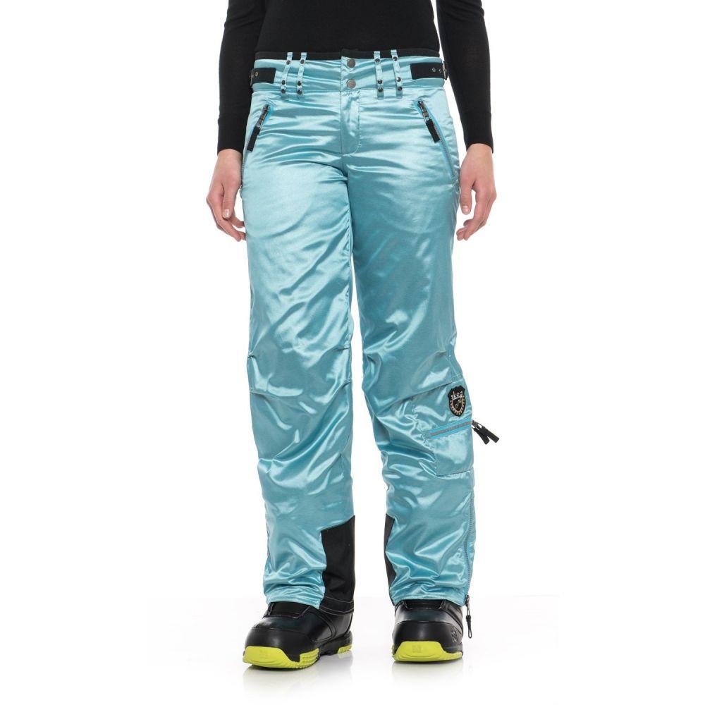 スケア Skea レディース スキー・スノーボード ボトムス・パンツ【Cargo Ski Pants - Insulated】Blue Chrome