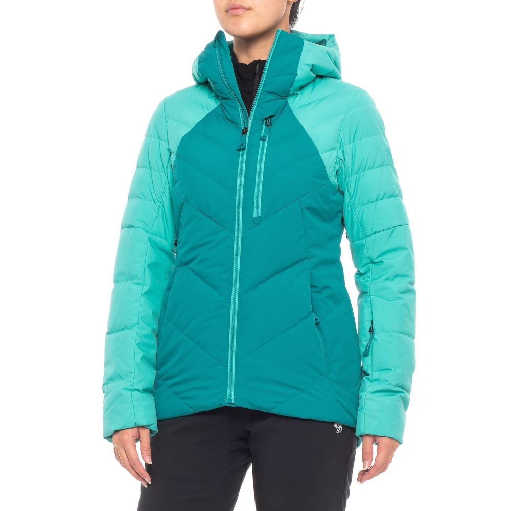 ザ ノースフェイス The North Face レディース スキー・スノーボード アウター【Corefire Windstopper Hooded Down Ski Jacket】Harbor Blue/Vistula Blue
