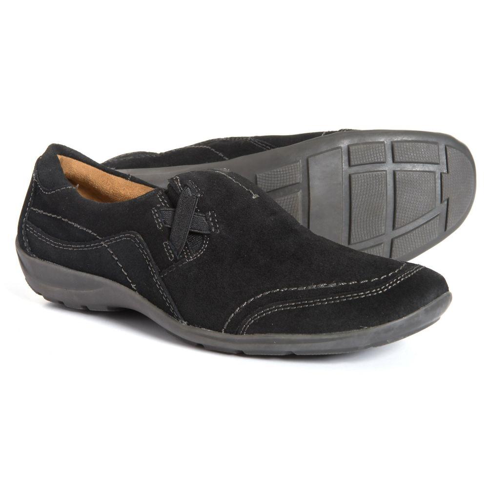 ナチュラルソウル Natural Soul レディース シューズ・靴【French Shoes - Suede】Black