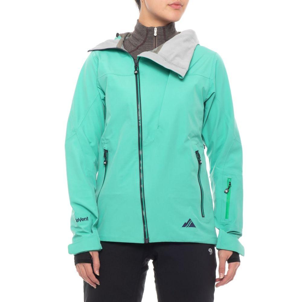 ストラーフェ Strafe レディース スキー・スノーボード アウター【Boomerang eVent Ski Jacket - Waterproof】Bright Aqua