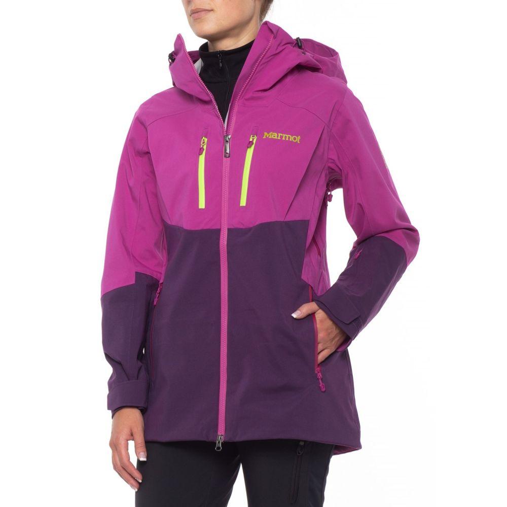 マーモット Marmot レディース スキー・スノーボード アウター【Sublime Jacket - Waterproof】Purple Orchid/Nightshade