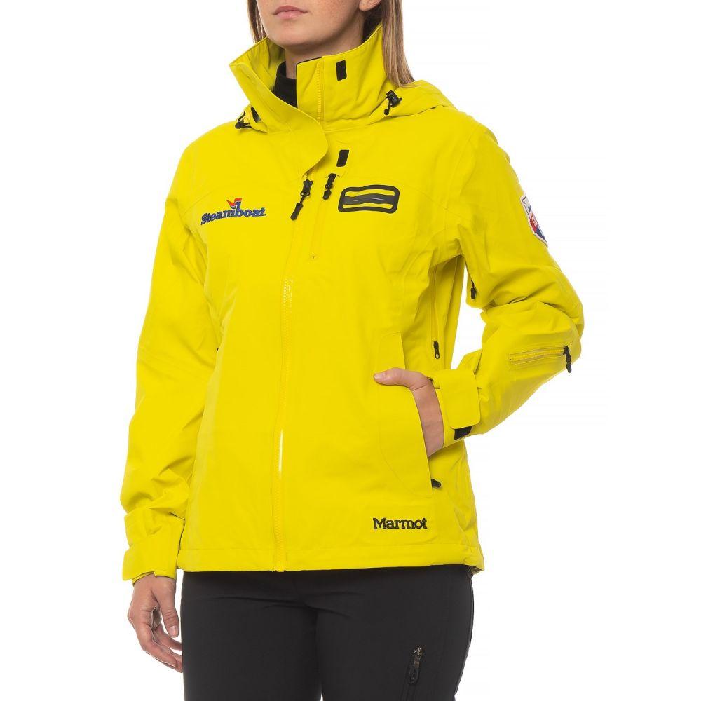 マーモット Marmot レディース スキー・スノーボード アウター【Snowboard AMB First Tram Jacket - Waterproof】Yellow