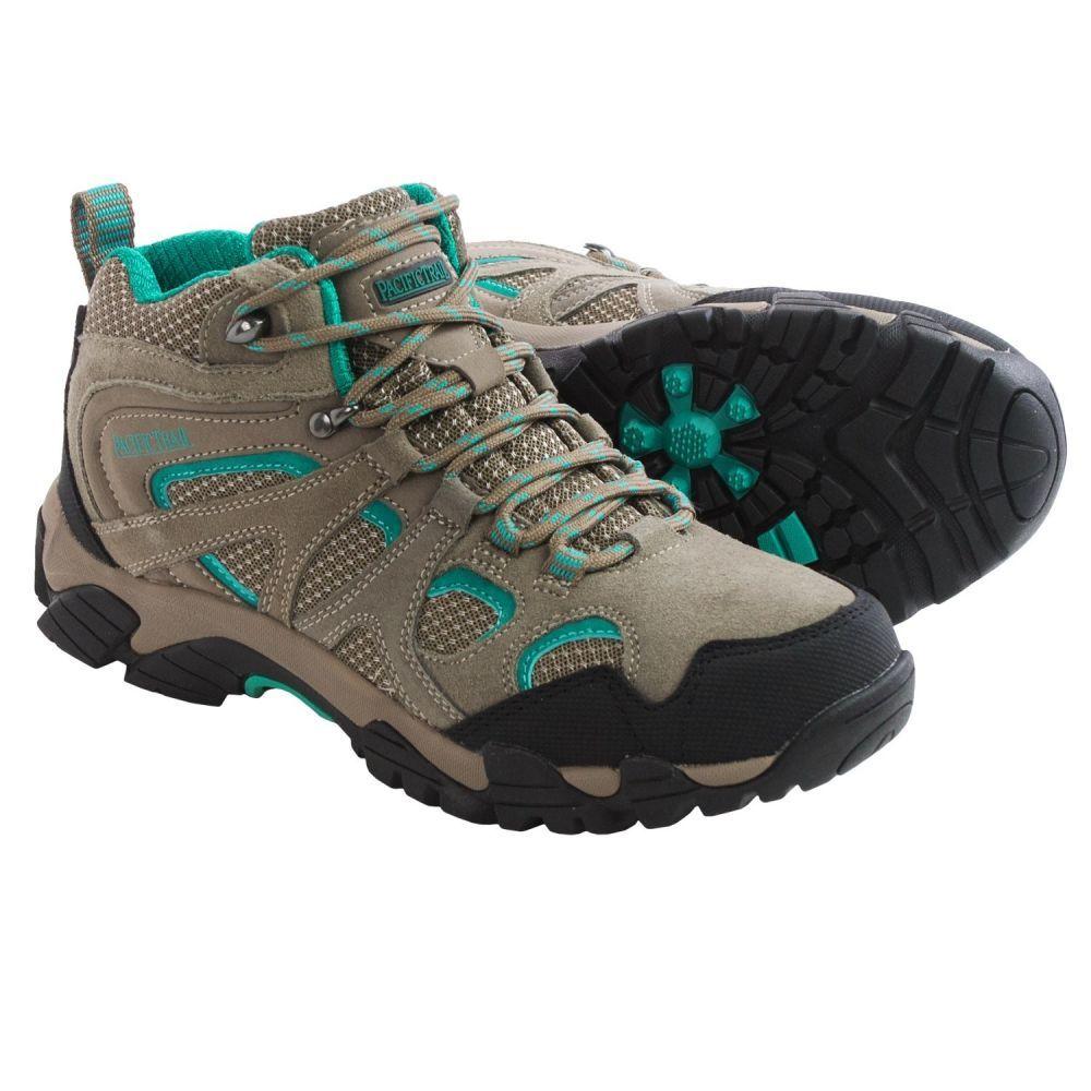 パシフィックトレイル Pacific Trail レディース ハイキング・登山 シューズ・靴【Diller Hiking Boots】Dark Taupe/Teal