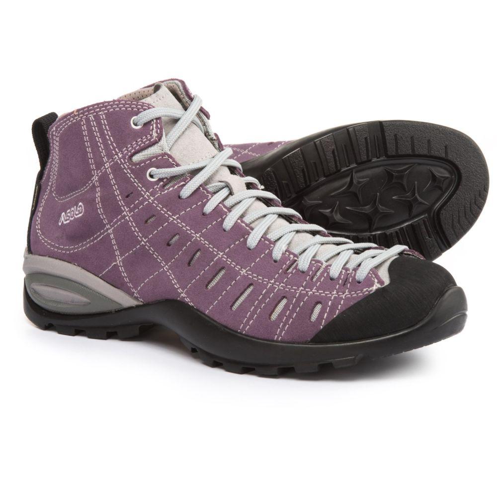 アゾロ Asolo レディース ハイキング・登山 シューズ・靴【Iguana GV Gore-Tex Hiking Boots - Waterproof, Suede】Grapeade