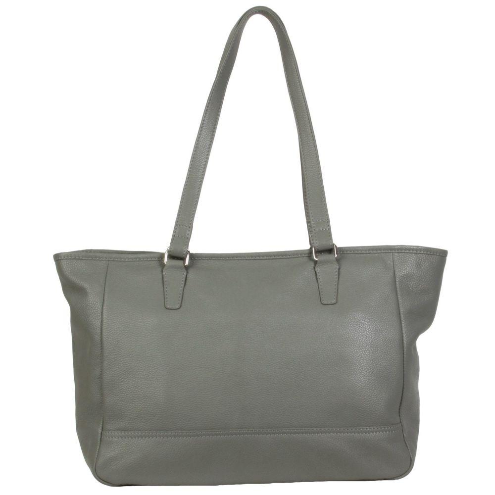 ハダキ HADAKI レディース バッグ トートバッグ【Cosmopolitan Tote Bag - Leather】Pewter