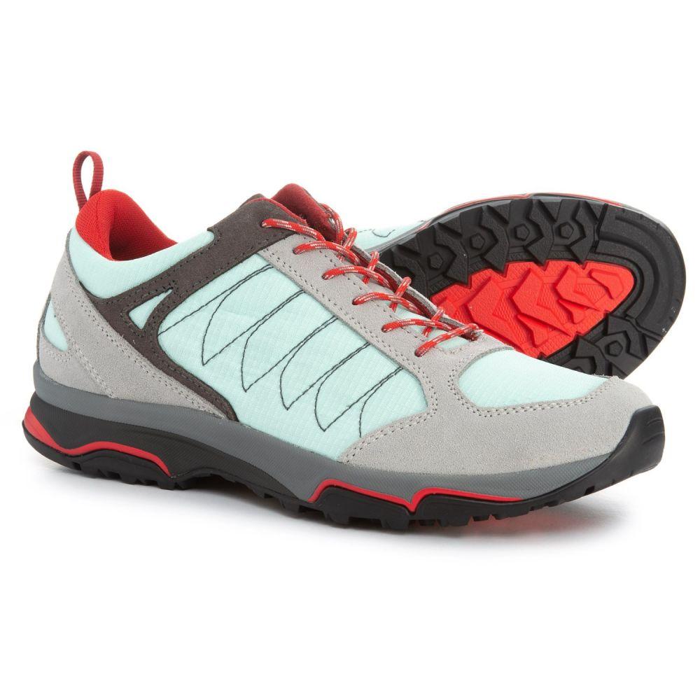 アゾロ Asolo レディース ハイキング・登山 シューズ・靴【Sword Hiking Shoes】Silver/Poolside