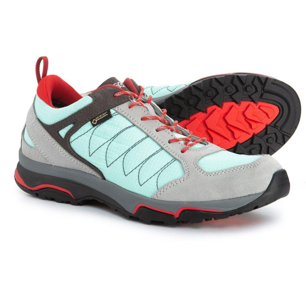 アゾロ Asolo レディース ハイキング・登山 シューズ・靴【Sword GV Gore-Tex Hiking Shoes - Waterproof】Silver/Poolside