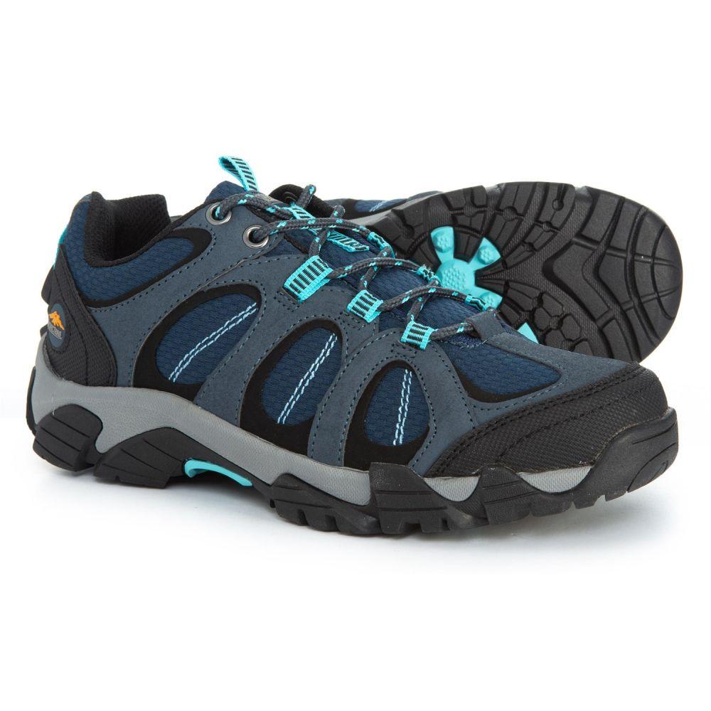 パシフィックトレイル Pacific Trail レディース ハイキング・登山 シューズ・靴【Logan Hiking Shoes】Navy
