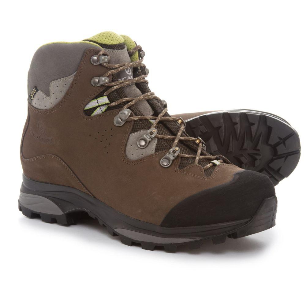 スカルパ Scarpa レディース ハイキング・登山 シューズ・靴【Made in Italy Hunza Hiking Boots】Dark Brown
