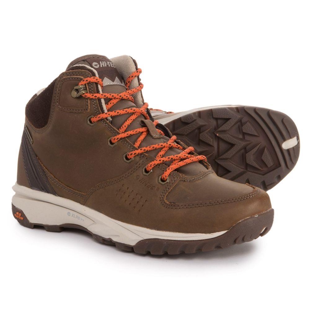 ハイテック Hi-Tec レディース ハイキング・登山 シューズ・靴【Wildlife Lux I Hiking Boots - Waterproof】Brown