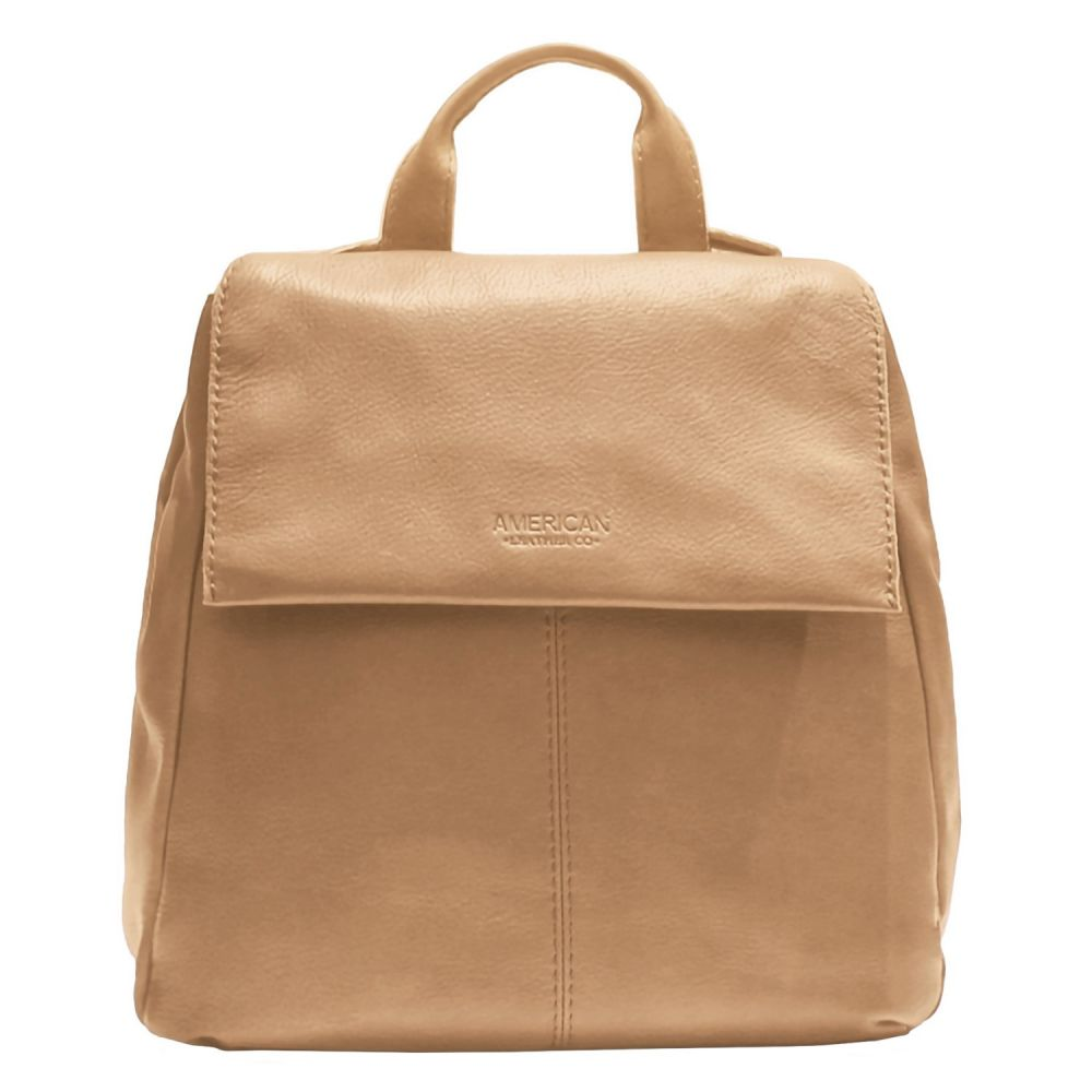 アメリカン レザー American Leather Co. レディース バッグ バックパック・リュック【Alexandria Flap Backpack - Leather】Smooth Vachetta