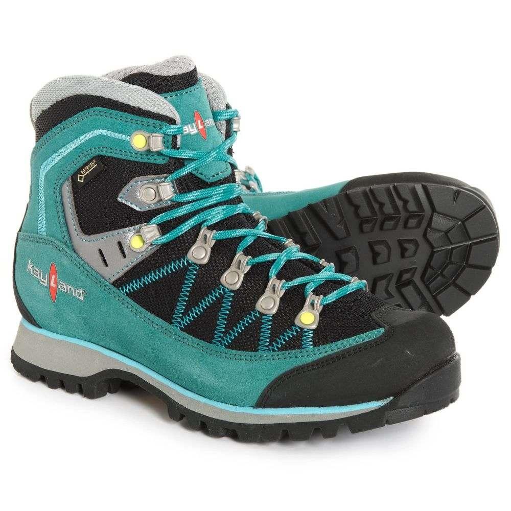 ケイランド Kayland レディース ハイキング・登山 シューズ・靴【Plume Micro Gore-Tex Hiking Boots - Waterproof】Green