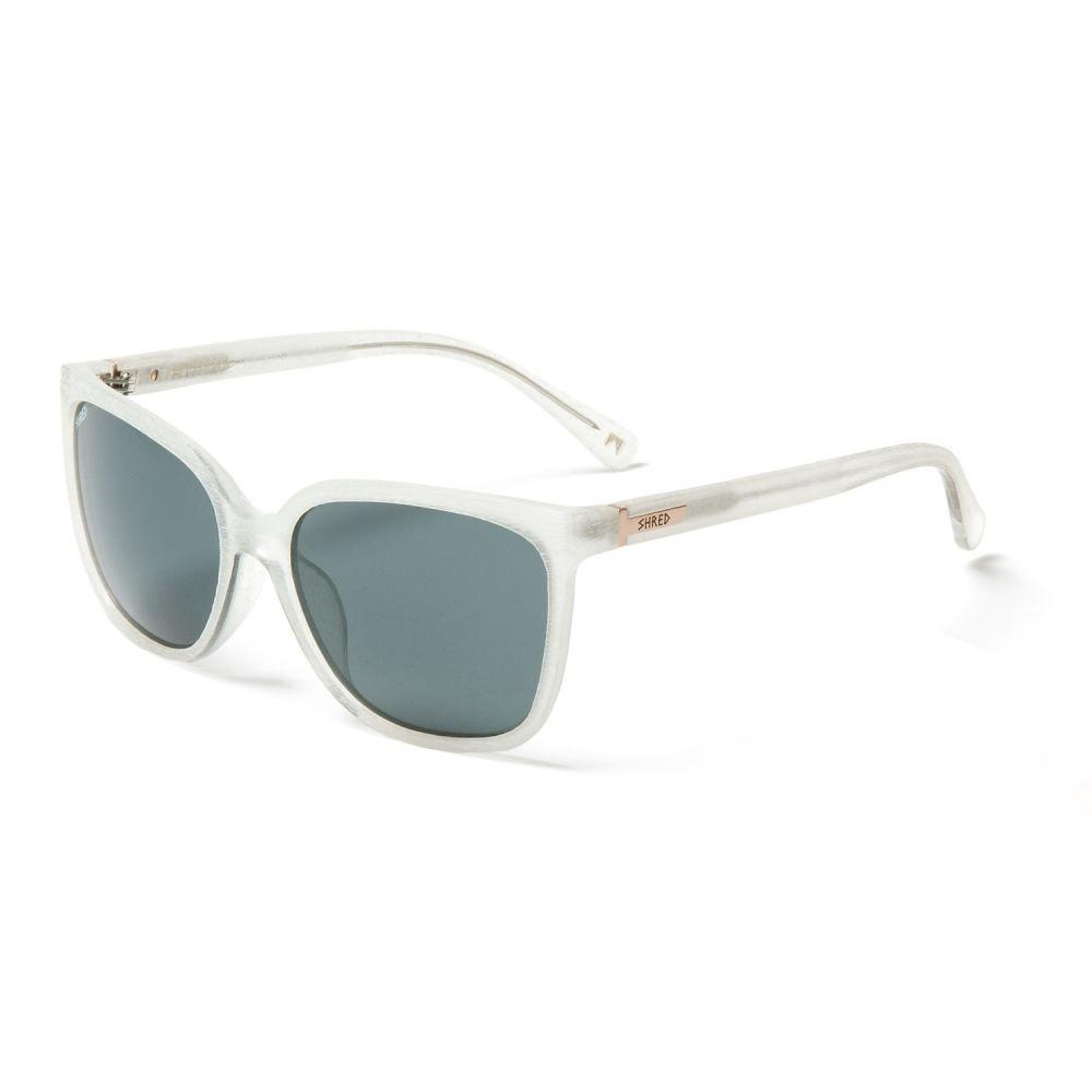 シュレッド オプティクス Shred Optics レディース メガネ・サングラス【Vanna Sunglasses】Brushed Crystal/Fume