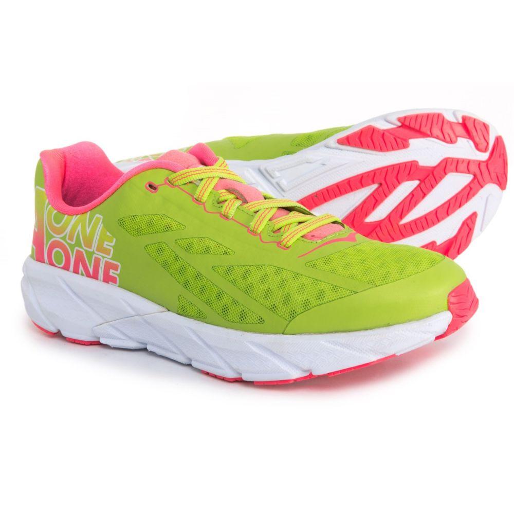 ホカ オネオネ Hoka One One レディース ランニング・ウォーキング シューズ・靴【Tracer Running Shoes】Bright Green / Neon Pink