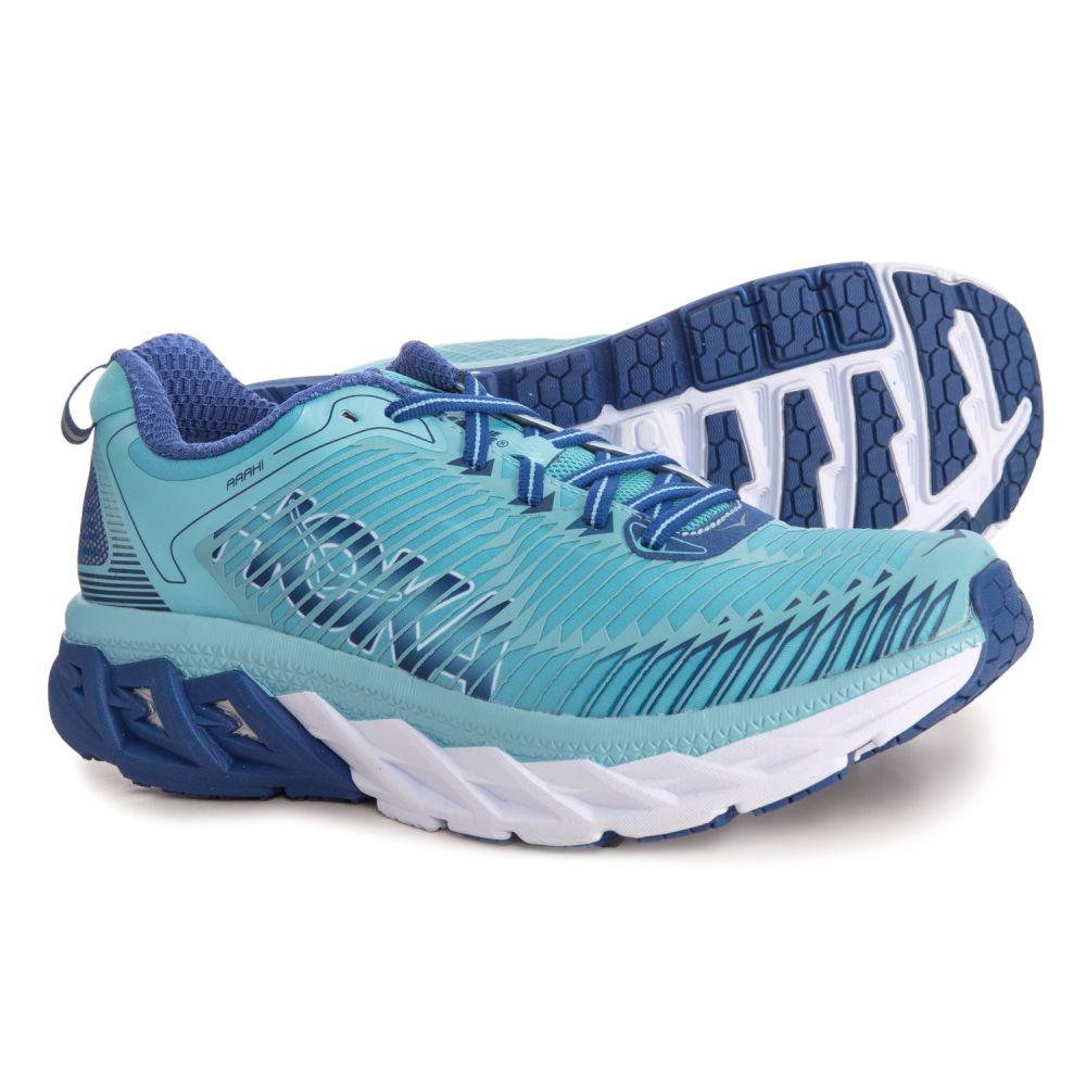 ホカ オネオネ Hoka One One レディース ランニング・ウォーキング シューズ・靴【Arahi Running Shoes】Blue Topaz/Electric Blue