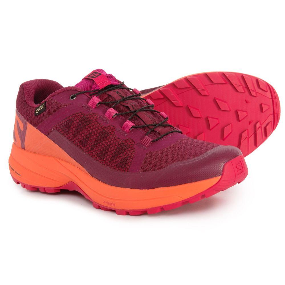 サロモン Salomon レディース ランニング・ウォーキング シューズ・靴【XA Elevate Gore-Tex Trail Running Shoes - Waterproof】Beet Red/Nasturtium/Pink