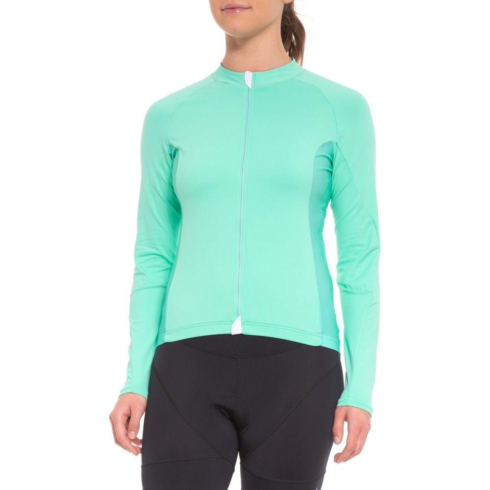 ヴェロシオ Velocio レディース 自転車 トップス【Signature Light Cycling Jersey - Long Sleeve】Mint