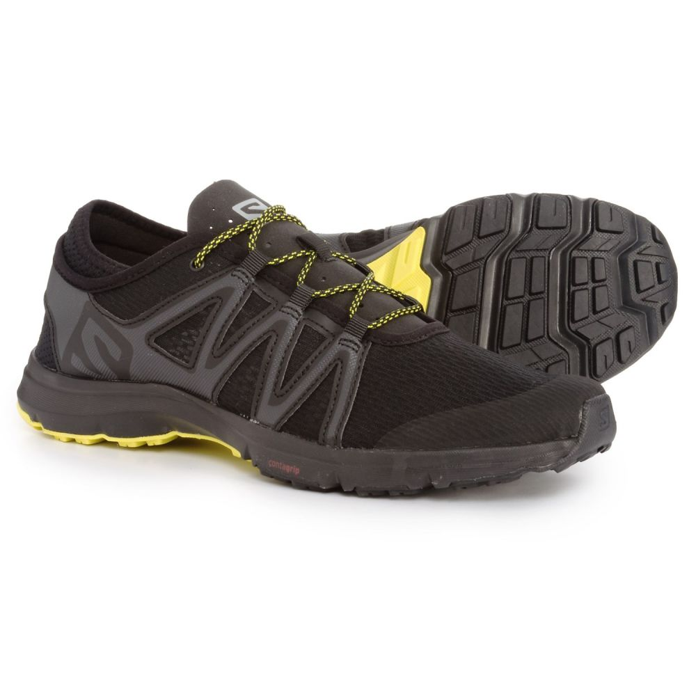 サロモン Salomon メンズ シューズ・靴 ウォーターシューズ【Crossamphibian Swift Water Shoes】Black/Phantom/Sulphur Spring