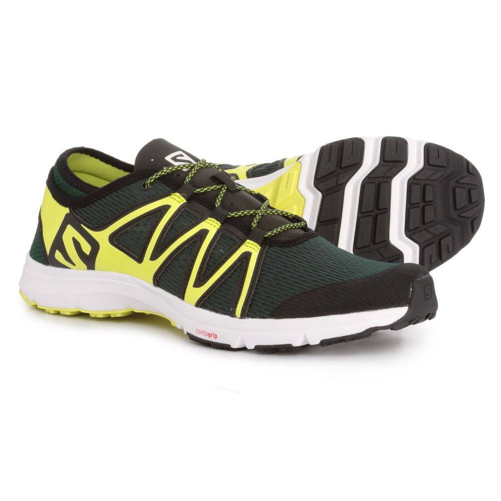 サロモン Salomon メンズ シューズ・靴 ウォーターシューズ【Crossamphibian Swift Water Shoes】Darkest Spruce/Black/Sulphur Spring