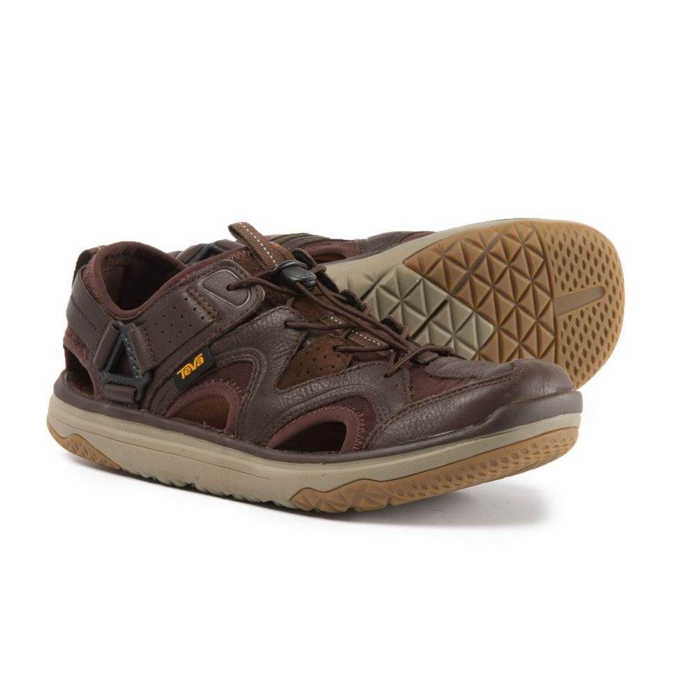 テバ Teva メンズ シューズ・靴 ウォーターシューズ【Terra-Float Travel Water Shoes - Leather】Chocolate Brown
