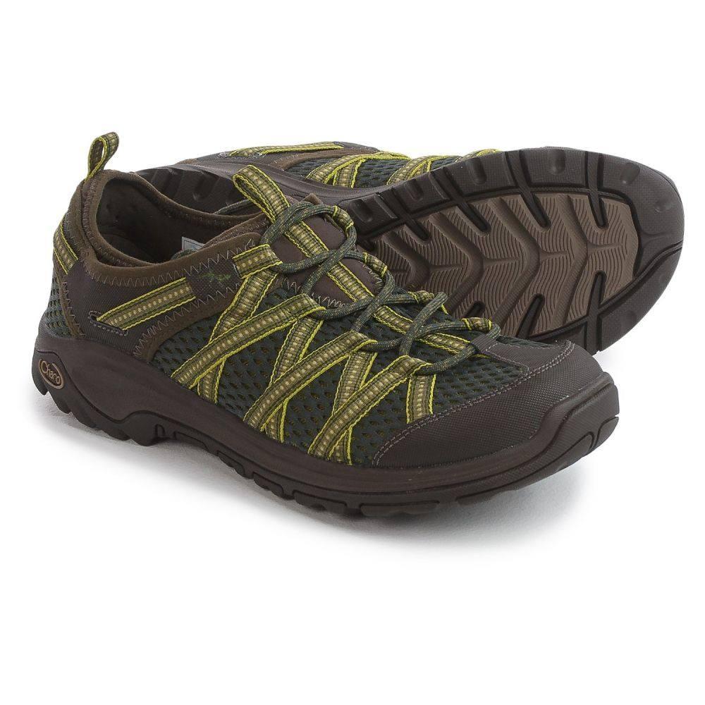 チャコ Chaco メンズ シューズ・靴 ウォーターシューズ【OutCross Evo 2 Water Shoes】Path Olive