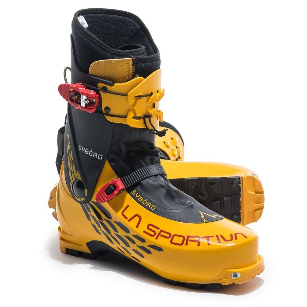 ラスポルティバ La Sportiva メンズ スキー・スノーボード シューズ・靴【Syborg Alpine Touring Ski Boots】Yellow/Black