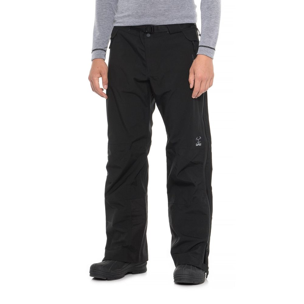 オバマイヤー Obermeyer メンズ スキー・スノーボード ボトムス・パンツ【Peak Shell Ski Pants - Waterproof】Black