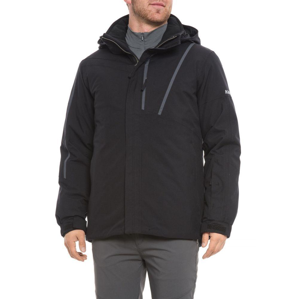 カーボン Karbon メンズ スキー・スノーボード アウター【Mars Ski Jacket - Waterproof, Insulated】Black/Charcoal