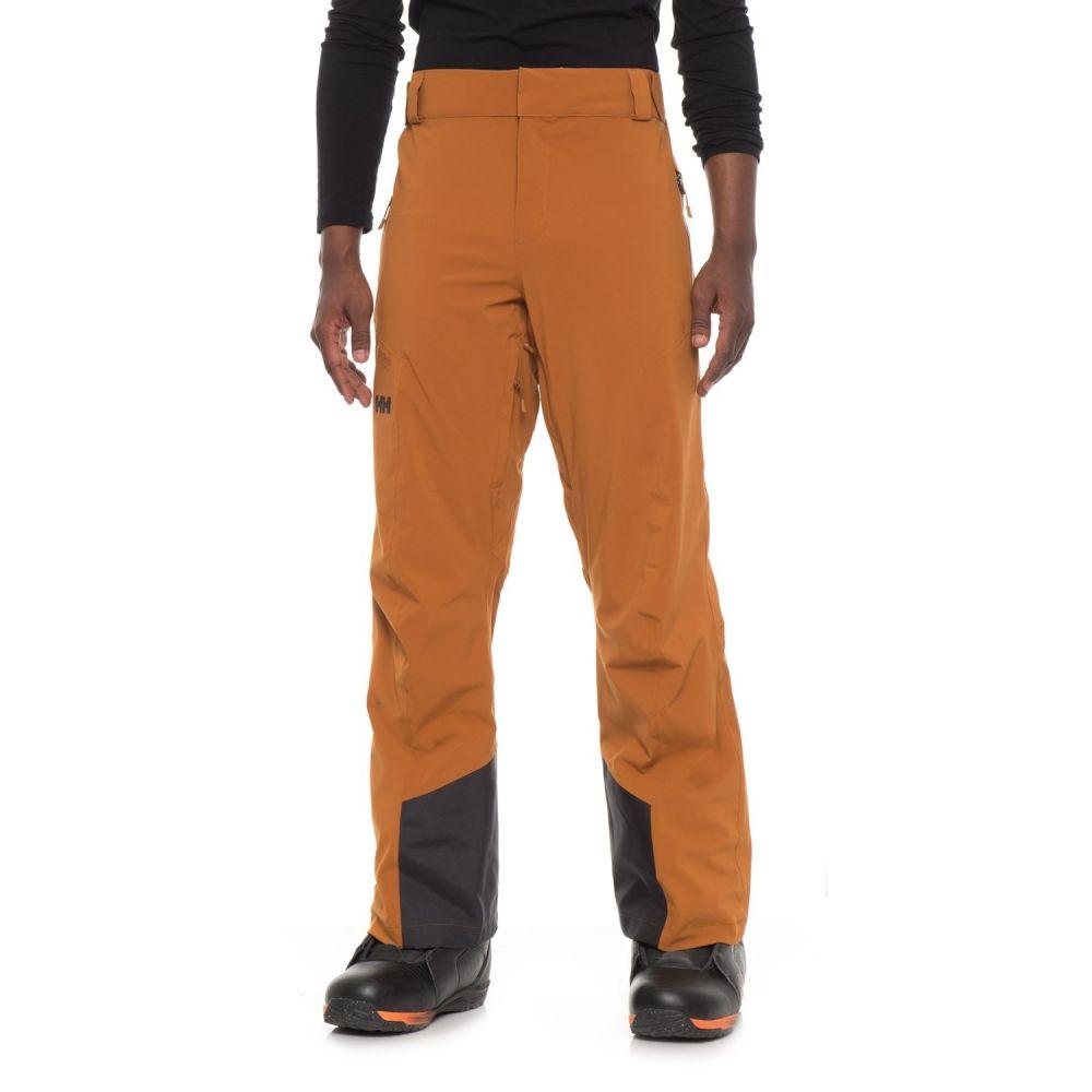 ヘリーハンセン Helly Hansen メンズ スキー・スノーボード ボトムス・パンツ【Edge PrimaLoft Ski Pants - Waterproof, Insulated】Cinnamon