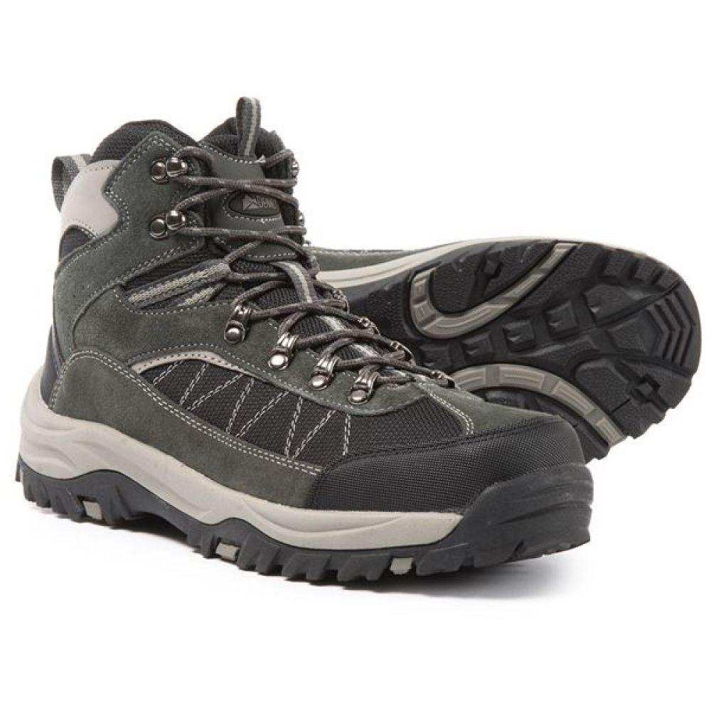 デナリ Denali メンズ ハイキング・登山 シューズ・靴【Superior Hiking Boots - Suede】Dark Grey/Black