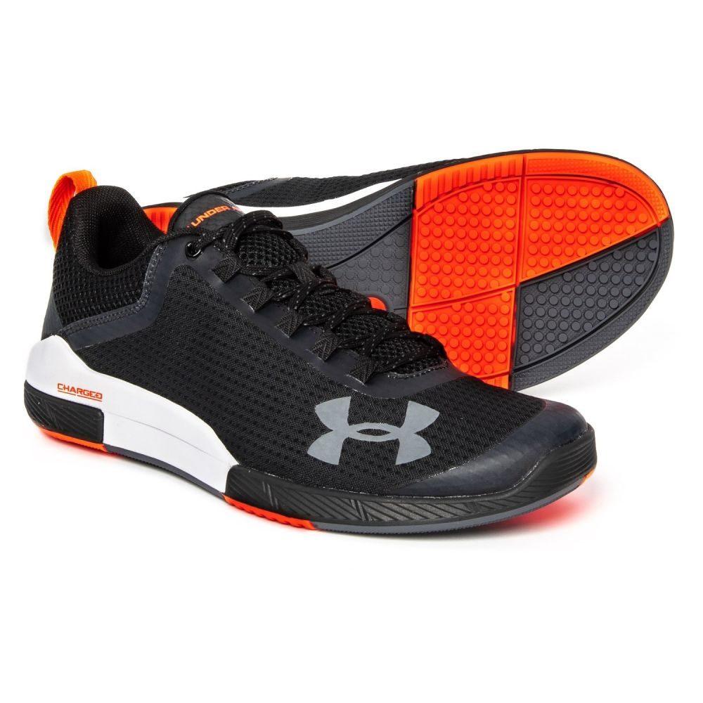 アンダーアーマー Under Armour メンズ フィットネス・トレーニング シューズ・靴【Charged Legend Training Shoes】001 Black/ White/Rhino Gray