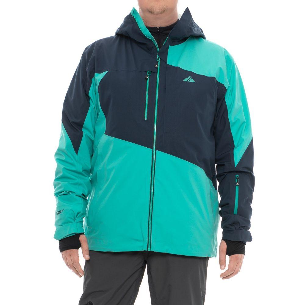 ストラーフェ Strafe メンズ スキー・スノーボード アウター【Highlands FX Polartec NeoShell Ski Jacket - Waterproof, Insulated】Peacoat/Aqua