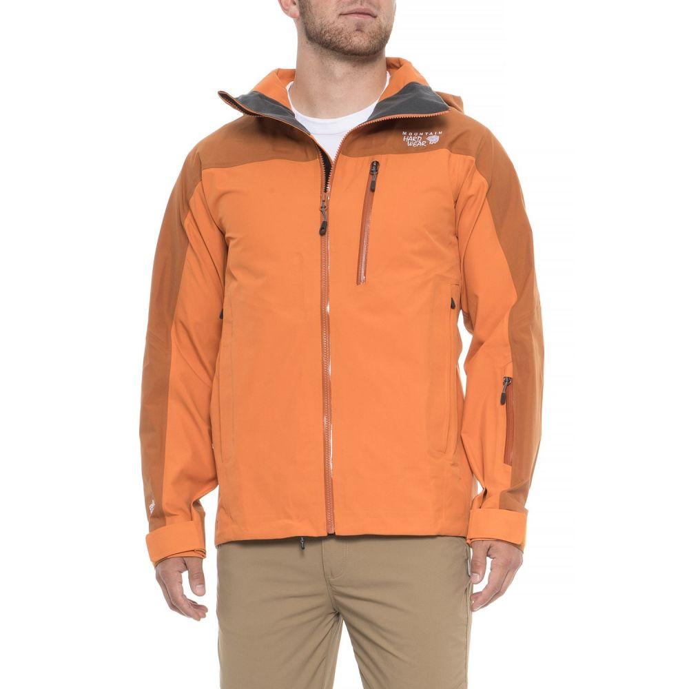 マウンテンハードウェア Mountain Hardwear メンズ スキー・スノーボード アウター【Tenacity Pro II Ski Jacket - Waterproof】Light Orange/ Dark Orange