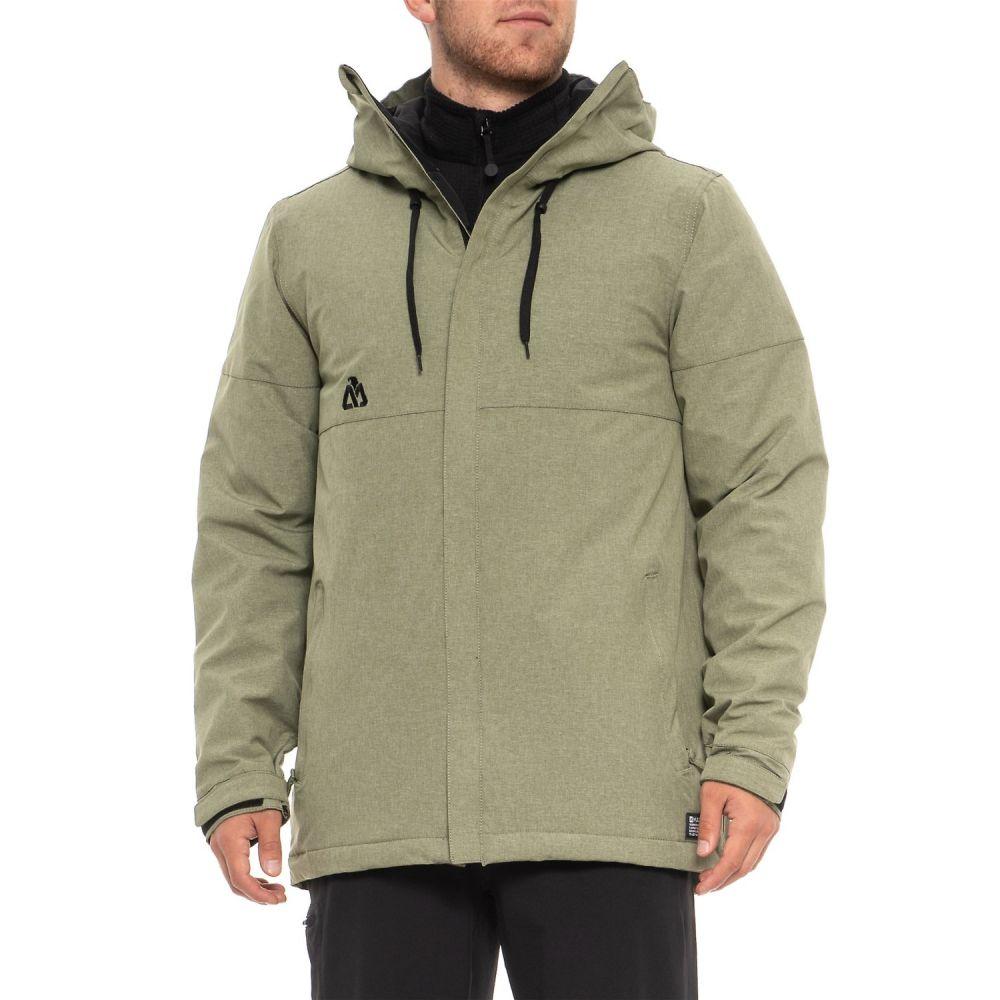 希少 黒入荷! マティックス Matix メンズ スキー・スノーボード アウター【Glenic Snowboard Matix Jacket Jacket Insulated】Army - Waterproof, Insulated】Army Melange, イットビー:d8dd6bf6 --- canoncity.azurewebsites.net