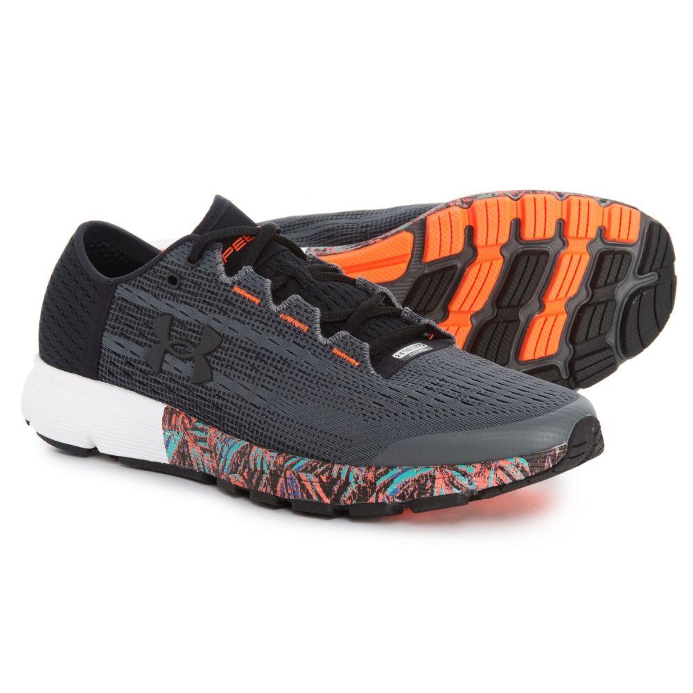 アンダーアーマー Under Armour メンズ ランニング・ウォーキング シューズ・靴【SpeedForm Velociti City Record Equipped Running Shoes】Black/Rhino Gray