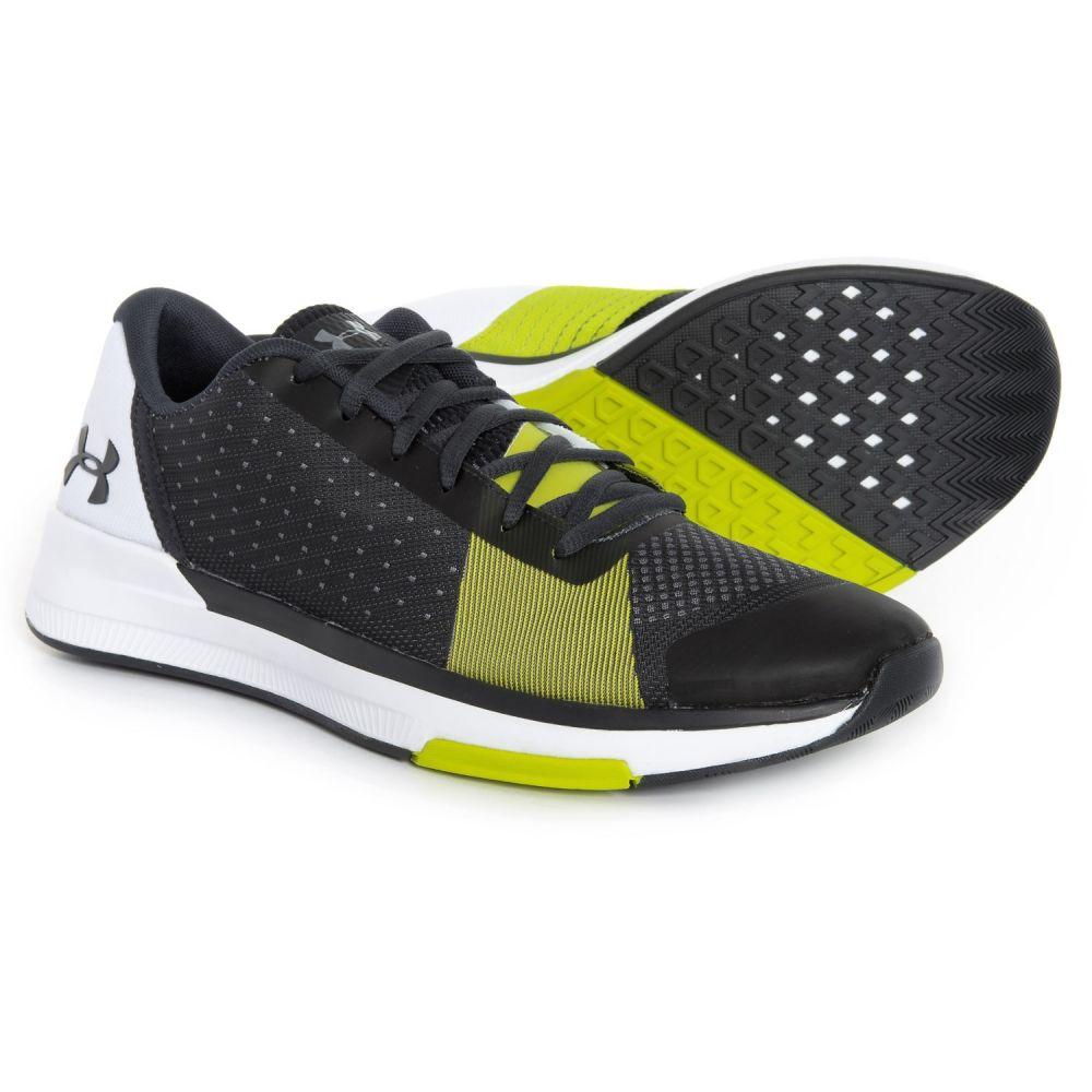 アンダーアーマー Under Armour メンズ フィットネス・トレーニング シューズ・靴【Showstopper Training Shoes】Anthracite/White