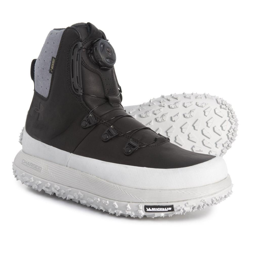 アンダーアーマー Under Armour メンズ ハイキング・登山 シューズ・靴【Fat Tire Govie SE Gore-Tex Hiking Boots - Waterproof, Insulated】Elemental/Black