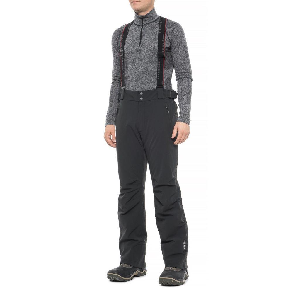ゼロ Zero メンズ スキー・スノーボード ボトムス・パンツ【RH+ Snow Peak Ski Pants - Waterproof, Insulated】Black