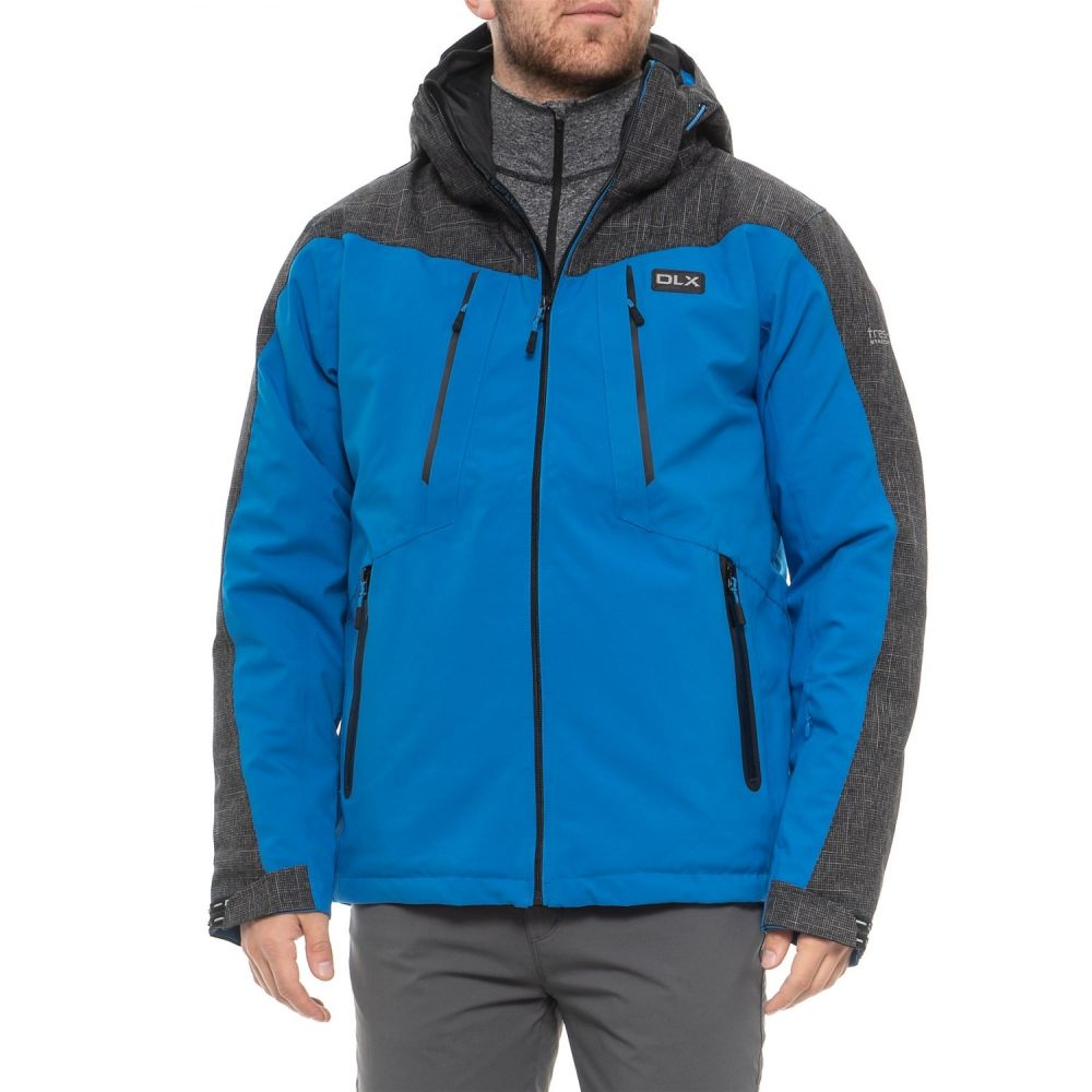トレスパス Trespass メンズ スキー・スノーボード アウター【Icon DLX Ski Jacket - Waterproof, Insulated】Bright Blue