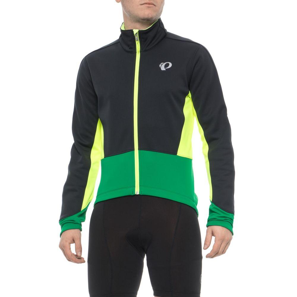 パールイズミ Pearl Izumi メンズ 自転車 アウター【ELITE Pursuit Soft Shell Cycling Jacket】Black/Pepper Green