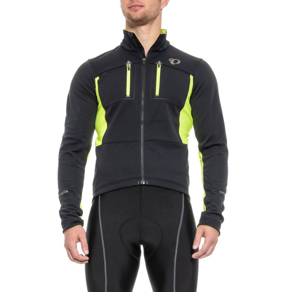 パールイズミ Pearl Izumi メンズ 自転車 アウター【ELITE Escape Thermal Cycling Jacket - Soft Shell】Black/Screaming Yellow