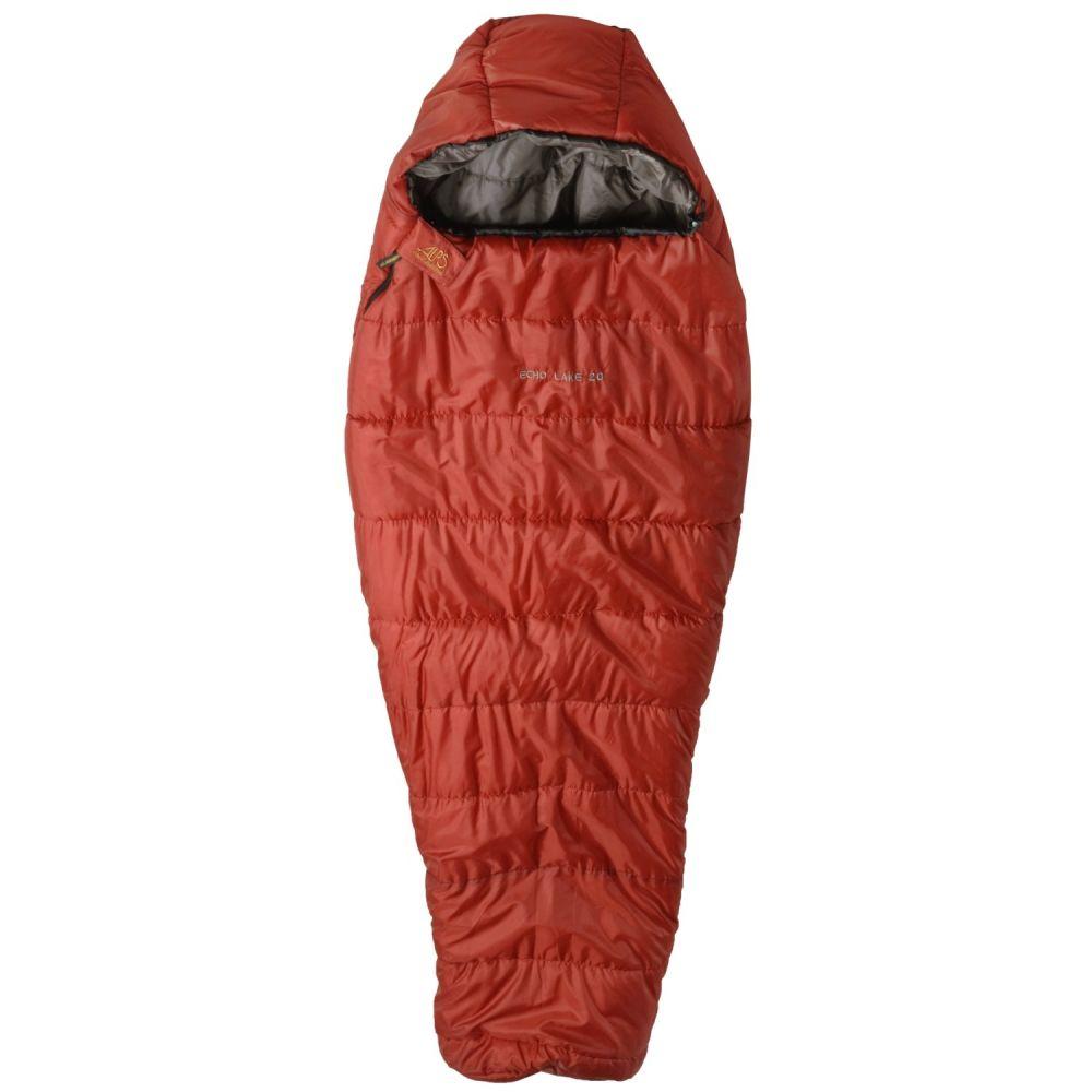 アルプスマンテイナーリング ALPS Mountaineering ユニセックス ハイキング・登山【20F Echo Lake Sleeping Bag - Long, Mummy】Rust/Clay