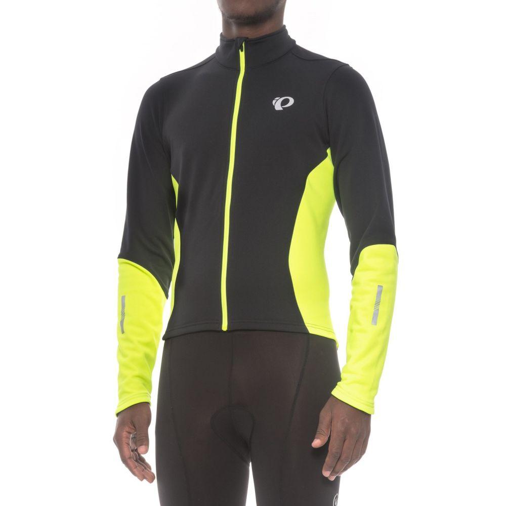 パールイズミ Pearl Izumi メンズ 自転車 トップス【Podium ELITE Thermal Cycling Jersey - Full Zip】Black/Screaming Yellow
