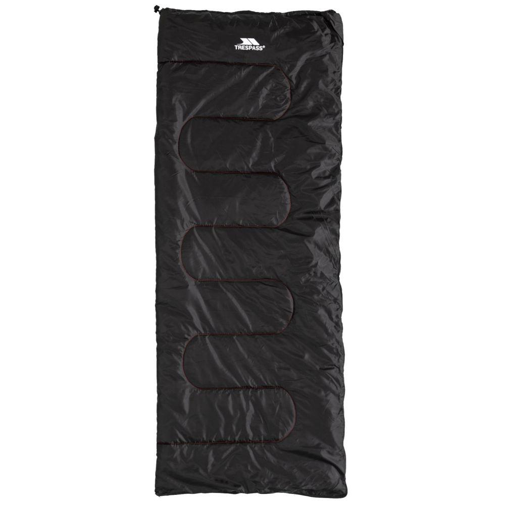 トレスパス Trespass ユニセックス ハイキング・登山【55F Envelop Sleeping Bag - Rectangular】Black