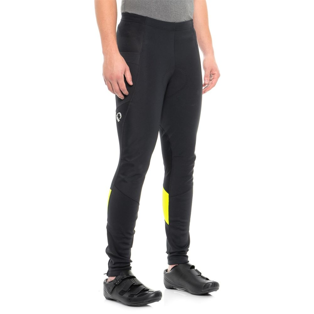 【残りわずか】 パールイズミ Pearl Yellow 自転車 Izumi メンズ 自転車 ボトムス・パンツ【ELITE Escape Escape AmFIB Cycling Tights】Black/Screaming Yellow, 長野市:7e6a211e --- clftranspo.dominiotemporario.com